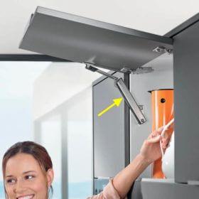 Mekanism för överhängda luckor IKEA Faktum
