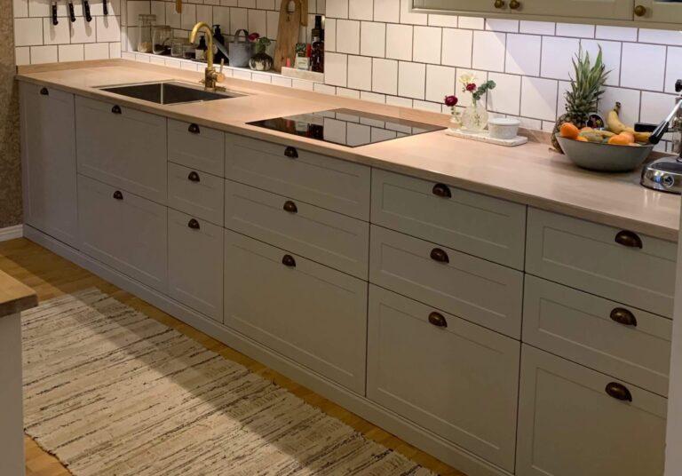 IKEA Metod nya köksluckor Lerhyttan grå