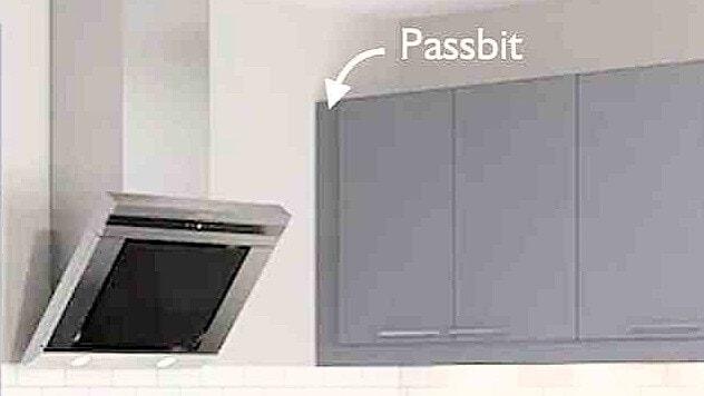 Passbit för kök IKEA Faktum