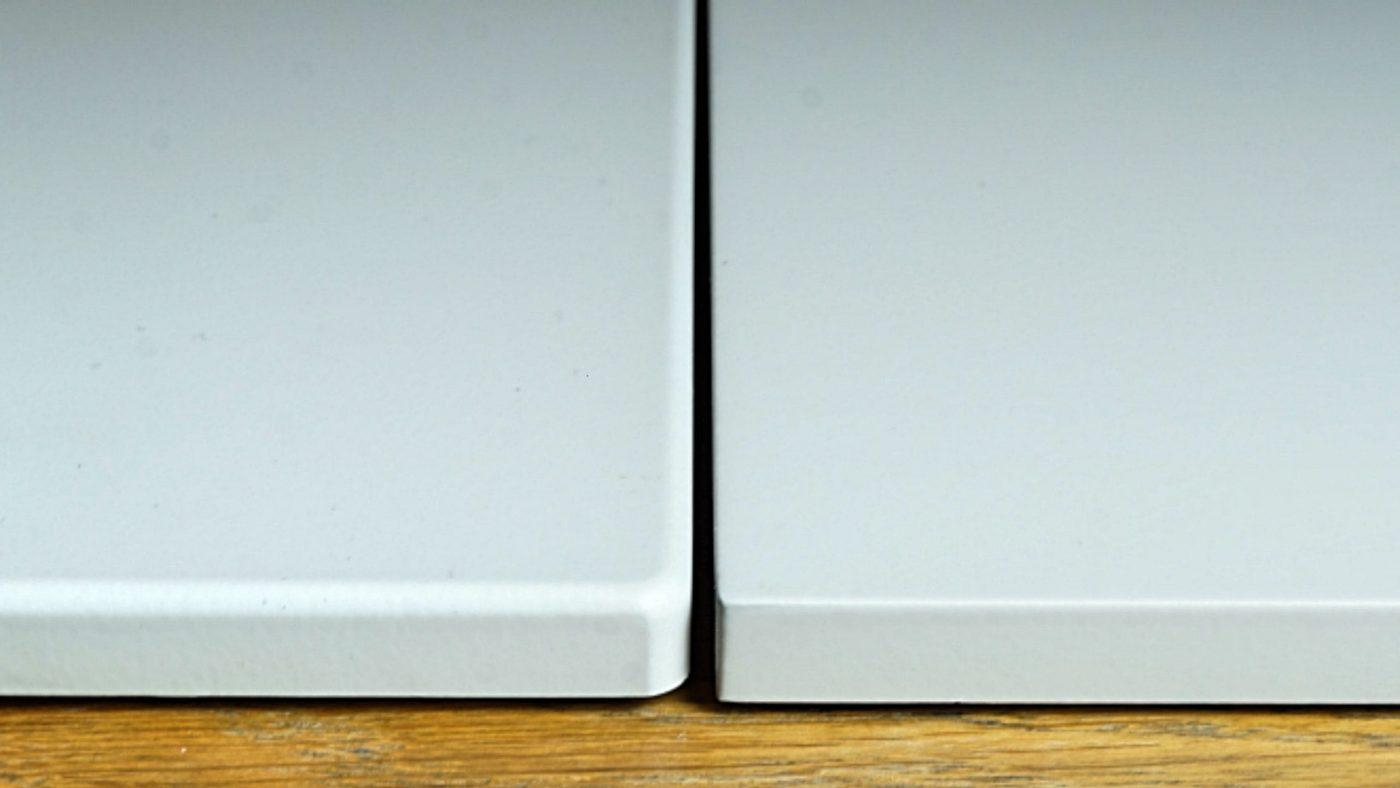W08 (vänster) vs W28 (höger)